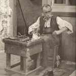 """A cobbler"" by Tomaso Filippi, 1895, from Dorothea Ritter's book ""Ottocento"""