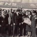 Υποδοχή στο αεροδρόμιο του Ελληνικού (δεκαετία του '50)