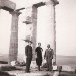 Between Papandreou and Georgopoulos at Cape Sounion, 1935