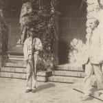 Ο Πρωθυπουργός της Κυβέρνησης Εθνικής Ενότητας συναντιέται με τον Τσώρτσιλ στην Cava de' Tirreni, 1944