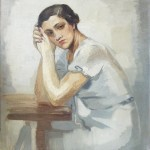 Miranda's portrait by Aginoras Asteriadis, 1934