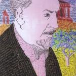 Pirandello's portrait by Nicholas Moore, 2009