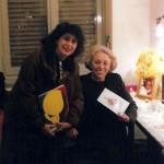 """""""Έξι πρόσωπα ζητούν συγγραφέα"""", """"Εθνικό Θέατρο"""", 2003. Η Βαλεντίνη Ποταμιάνου με την Όλγα Τουρνάκη"""