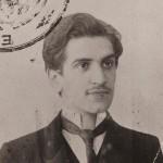 Ο Κώστας Θεοδωρίδης το 1903