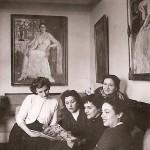 With Miranda and her three granddaughters Vana, Kyveli and Kyvelitsa