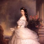 Empress Elizabeth painted by Franz Xaver Winterhalter in 1865