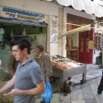 Market in Syros
