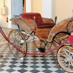 Empress Sisi's summer wagon at the Hermoupolis Town Hall